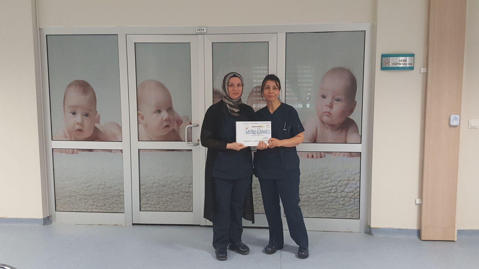 Boğazlıyan Devlet Hastanesi'nde Anne Adaylarına Eğitim veriliyor