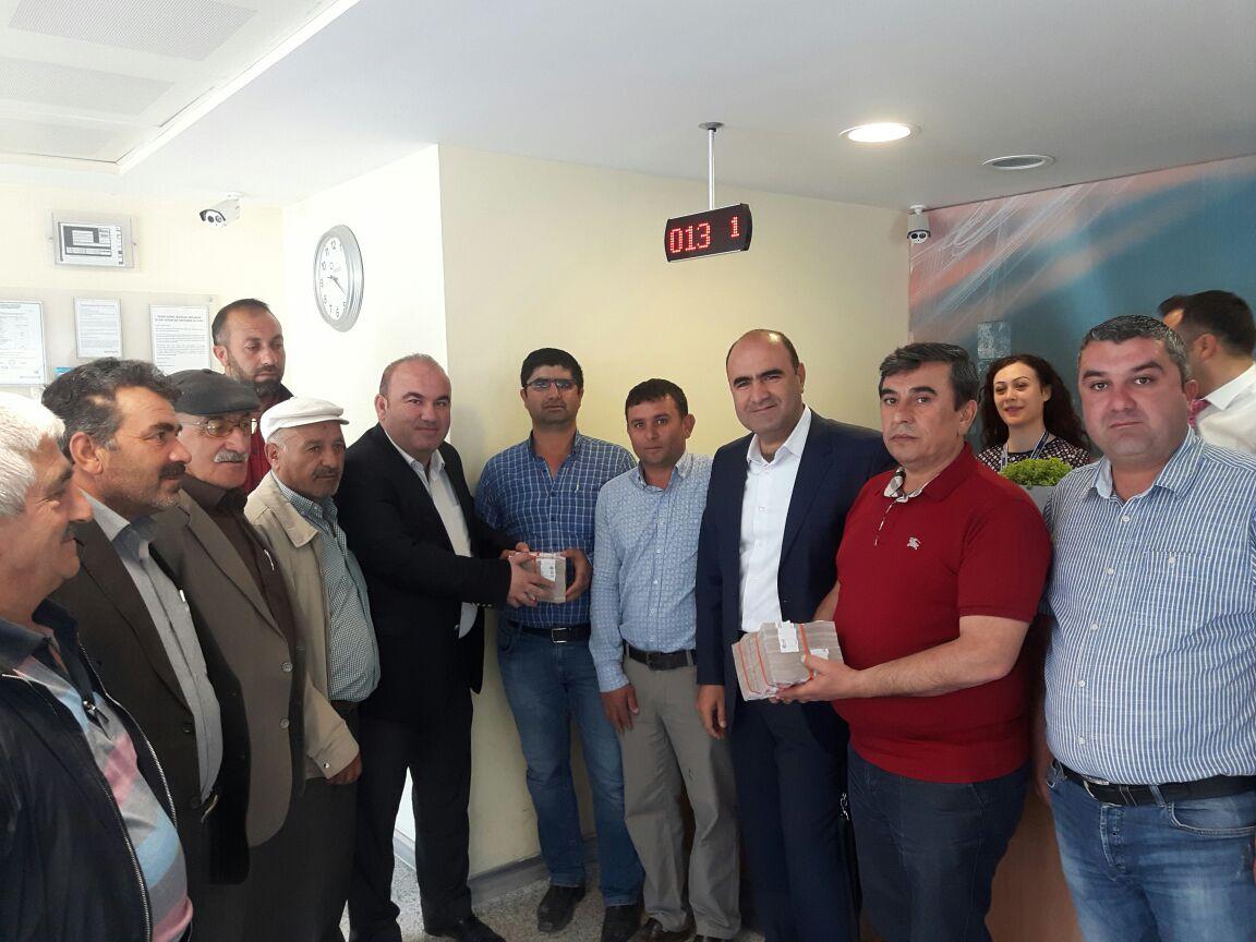 KAYSERİ ŞEKER'DEN ÇİFTÇİSİNE 29 MİLYON TL'FAİZ'DEN KURTARMA AVANSI