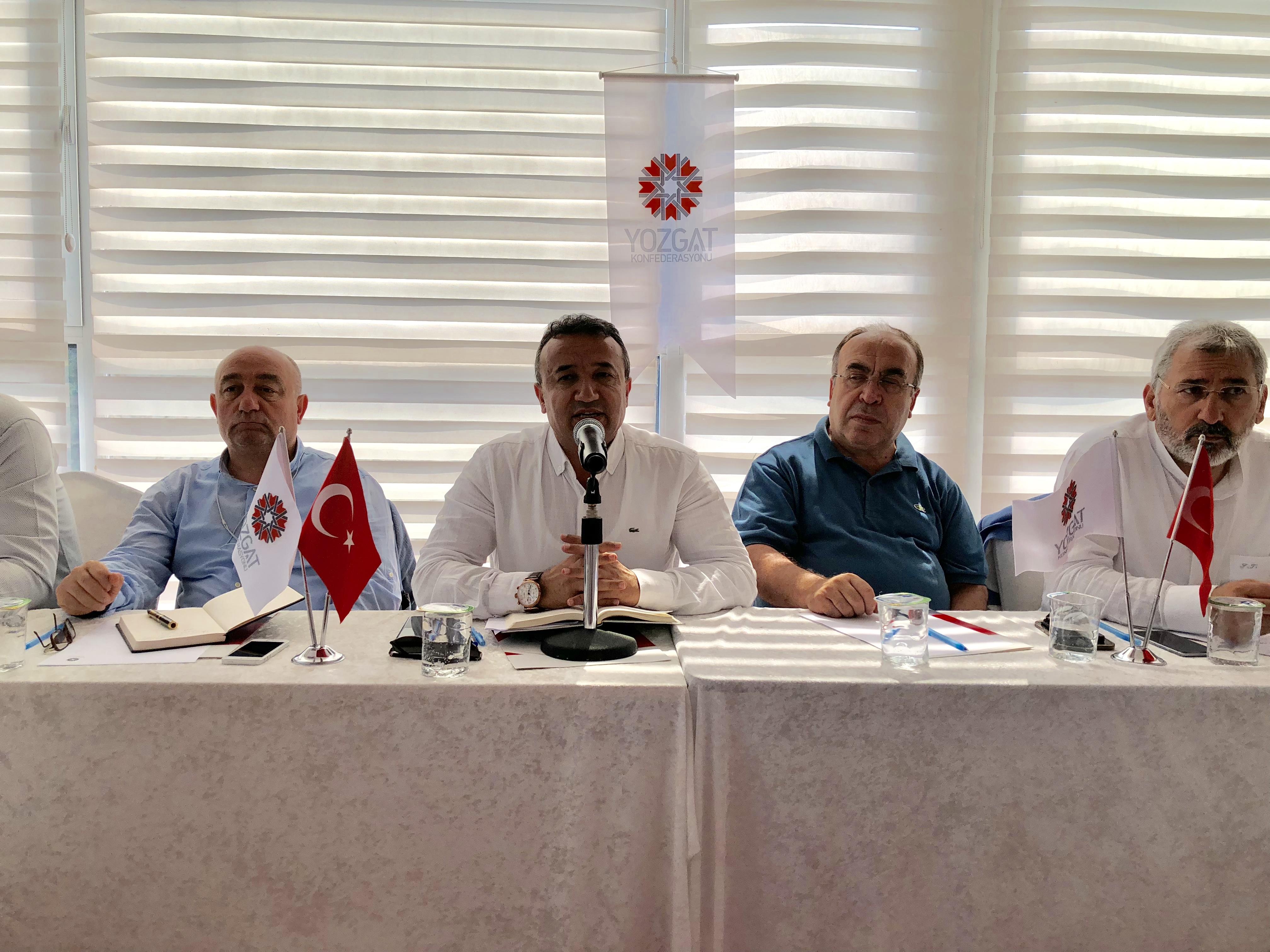 Yozgat Konfederasyonu 2023 Stratejik Planı Yürürlüğe Girdi