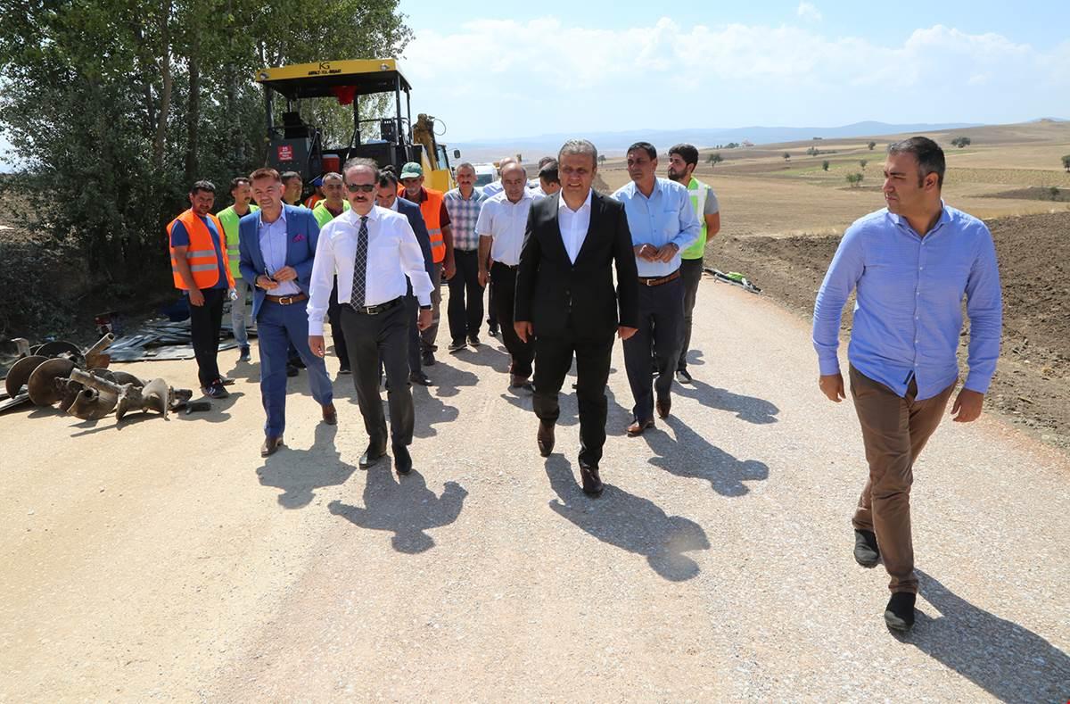 Köy Grup Yolları Ralli  Yolları Gibi Oluyor
