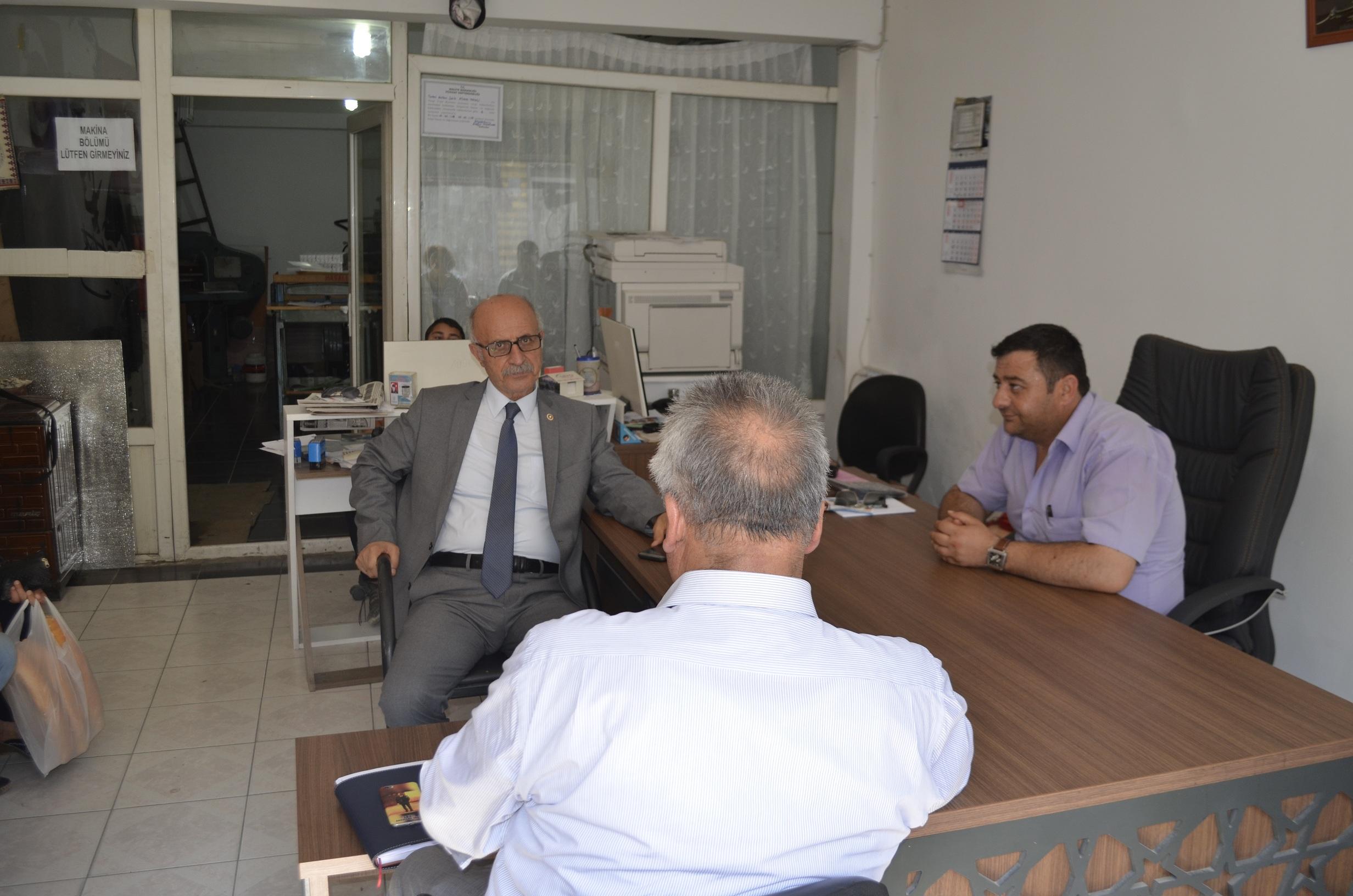 CHP Milletvekili Keven Gazetemizi Ziyaret Etti