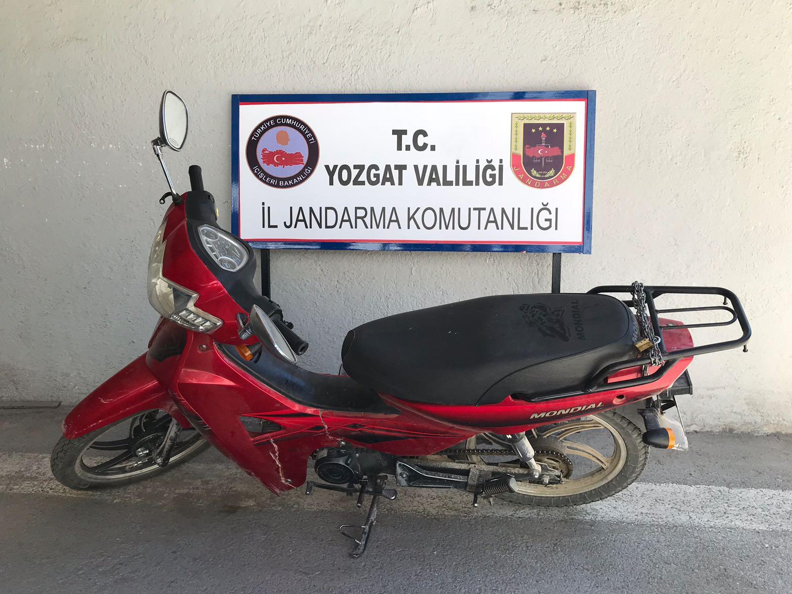 Motosiklet Hırsızı Yakalandı