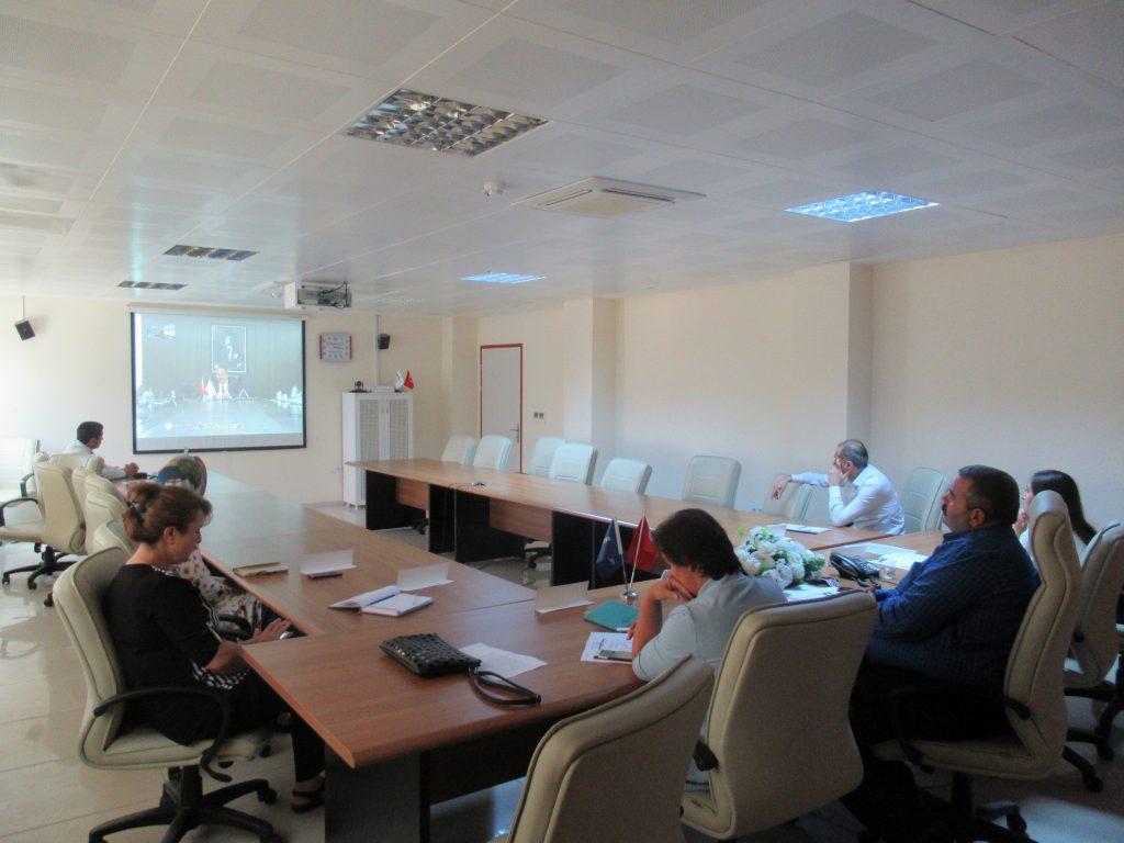 İŞKUR'dan Video Konferans