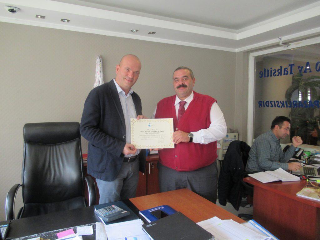 İŞKUR'dan İşverenlere Teşekkür Ziyareti