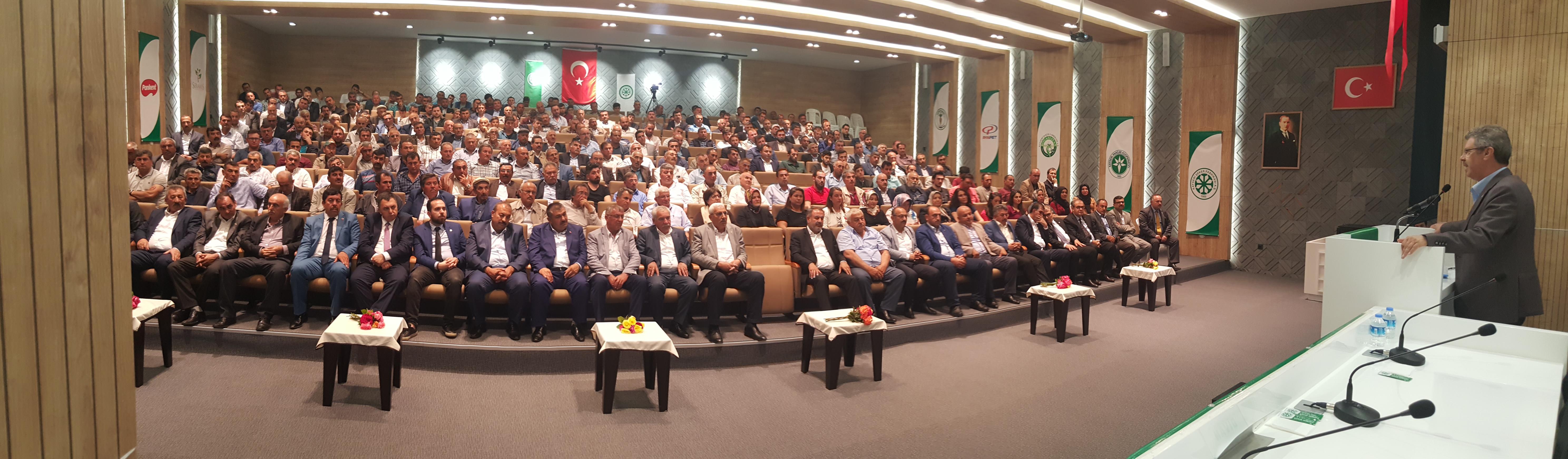 Başkan Akay; Çiftçinin Kızıl Elması Milli Gelirden En Yüksek Payı Almak  İçin Daha Çok Çalışmaktır
