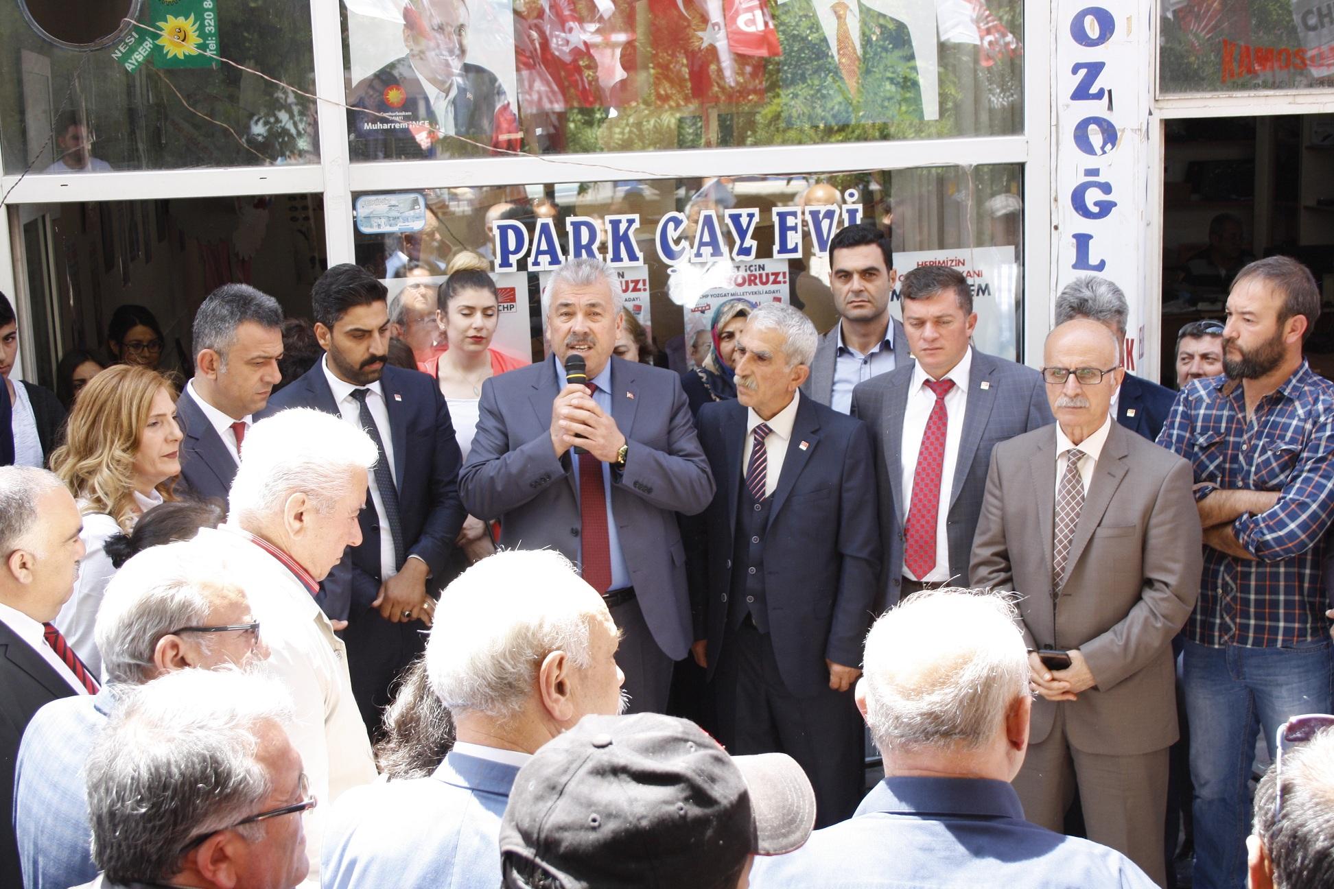 CHP'den 'Boğazlıyan Çıkarması'