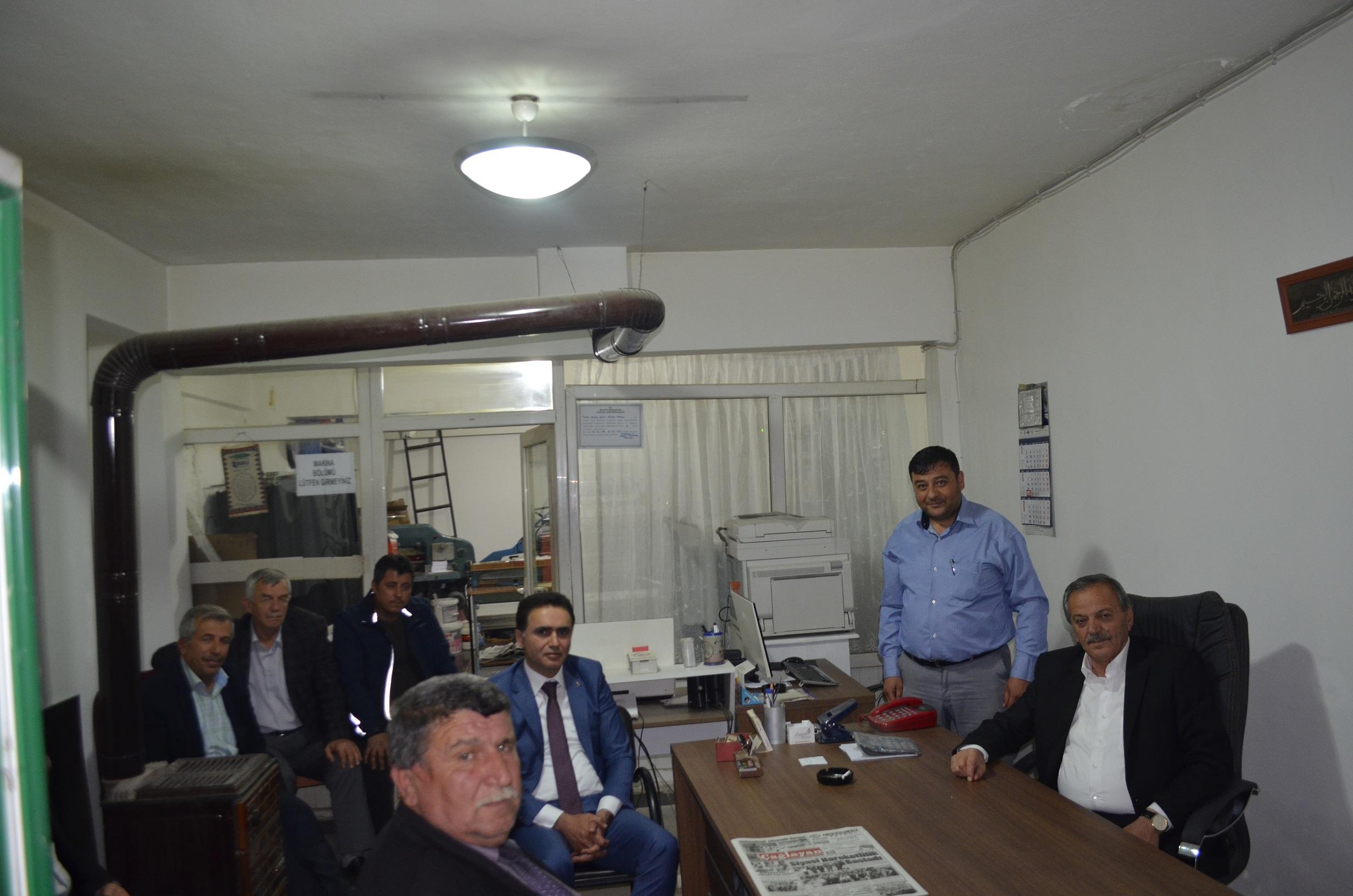 Milletvekili adayı Minar Gazetemizi ziyaret etti