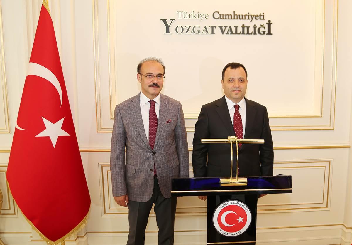 AYM Başkanı Arslan Yozgat'ta