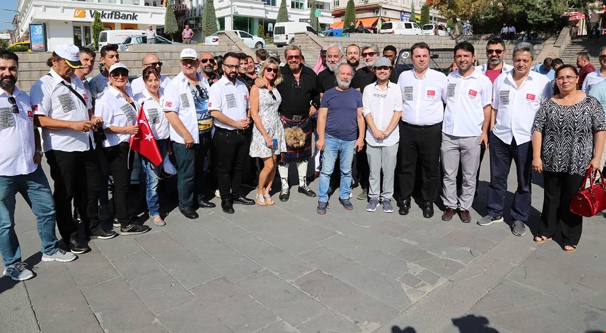 Yozgat'a Yıldız Yağdı