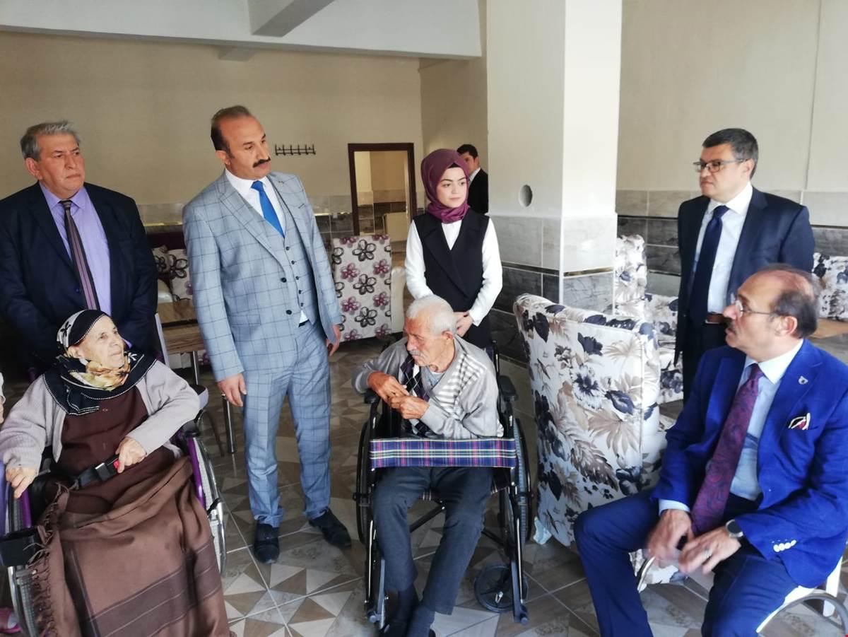 Engelli Bakım Evi Açıldı