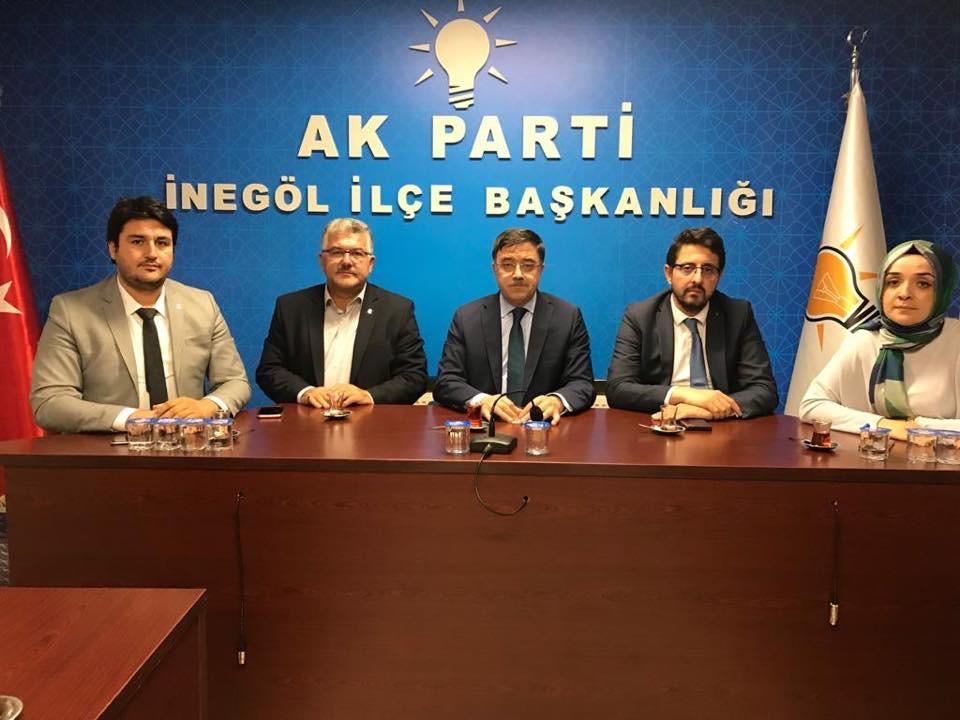 Başer'den Marmara'ya Seçim Turu