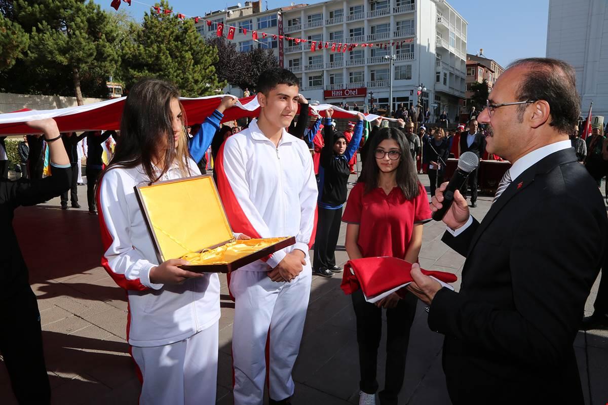 Atatürk'ün Yozgat'a Gelişinin 94. Yılı Kutlandı