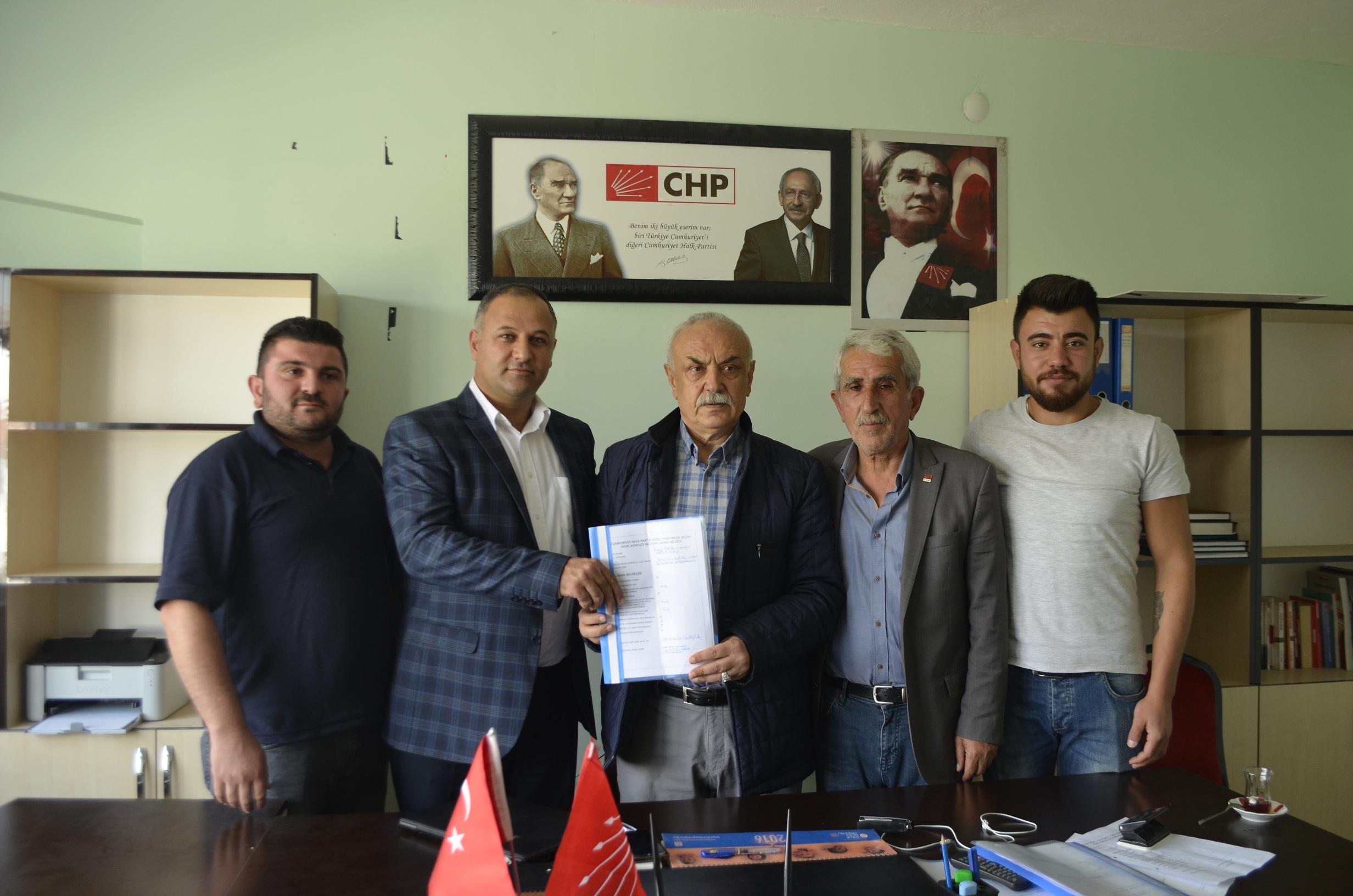 CHP'de 4 Aday Belediye Başkan adaylığı için müracaat etti