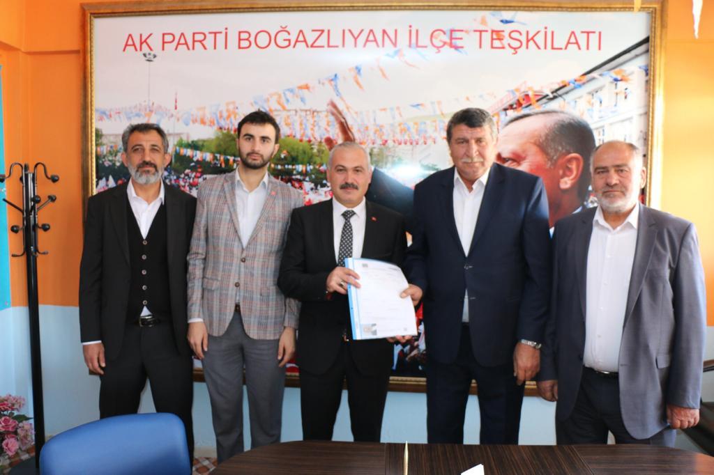 Gökhan Coşar, adaylığını açıkladı
