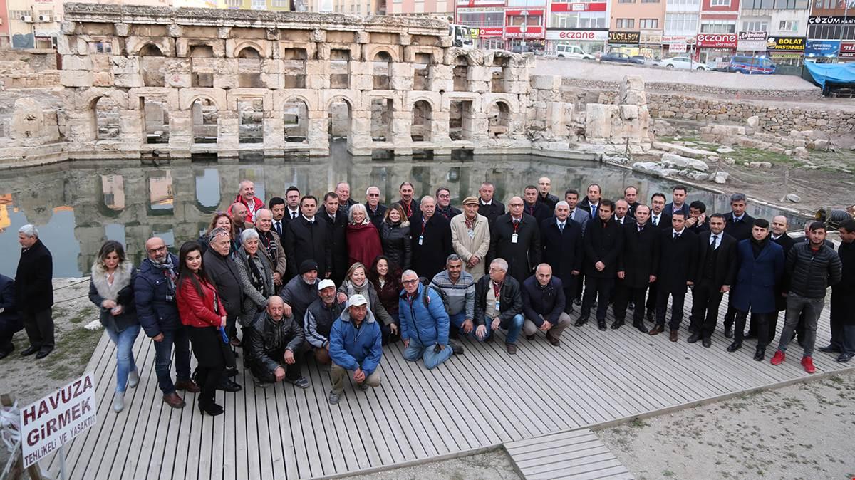 Roma Hamamı Tanıtıldı