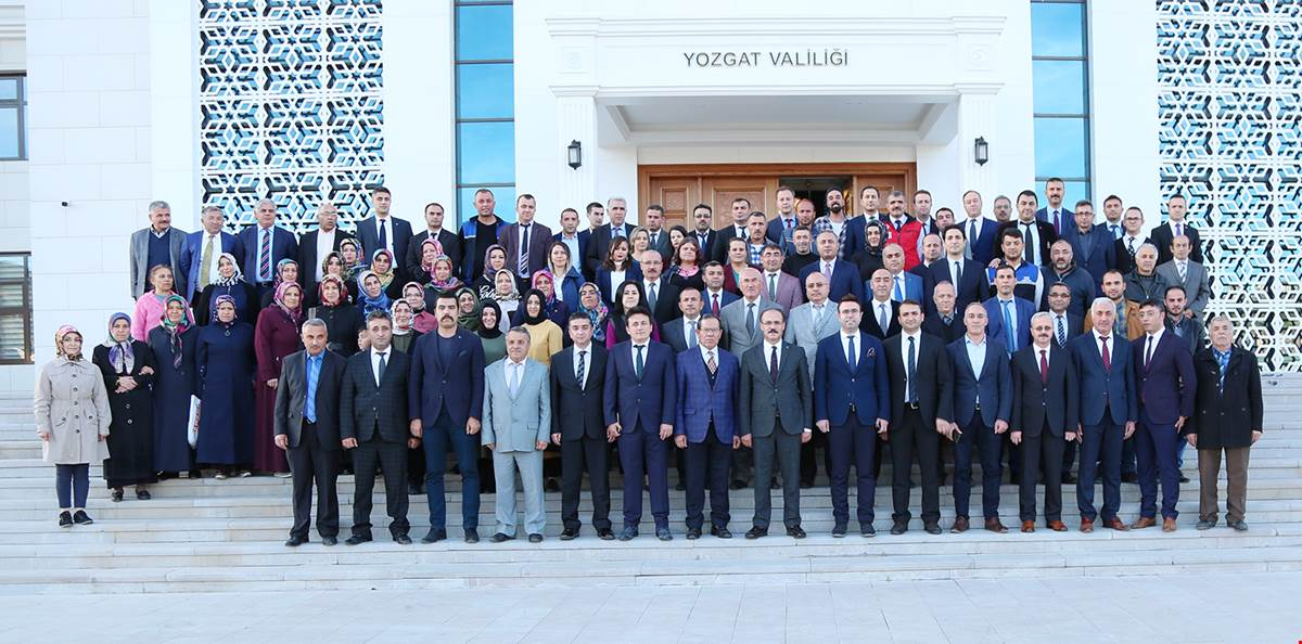 Vali Yurtnaç, Yozgat'tan Ayrıldı