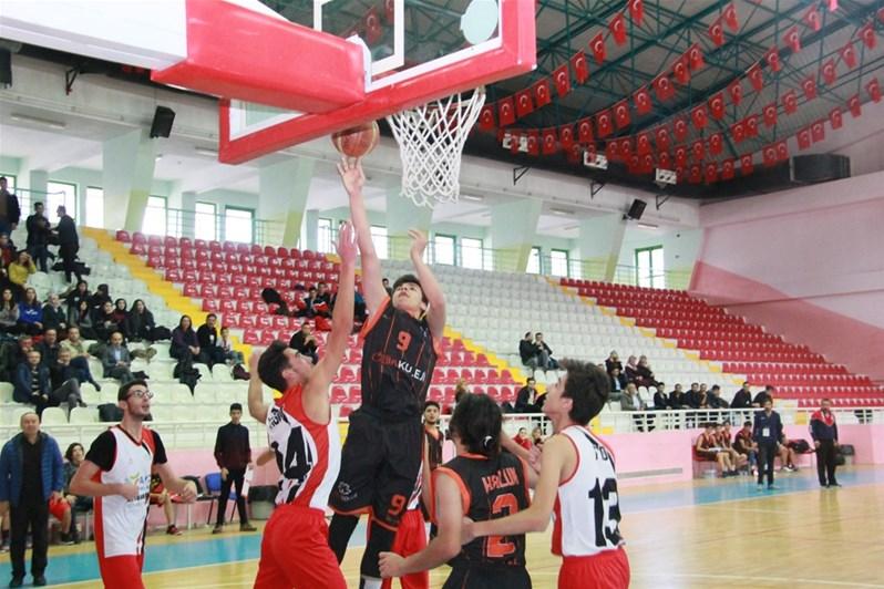 Genç Erkekler Basketbol İl Birincisi Belli Oldu