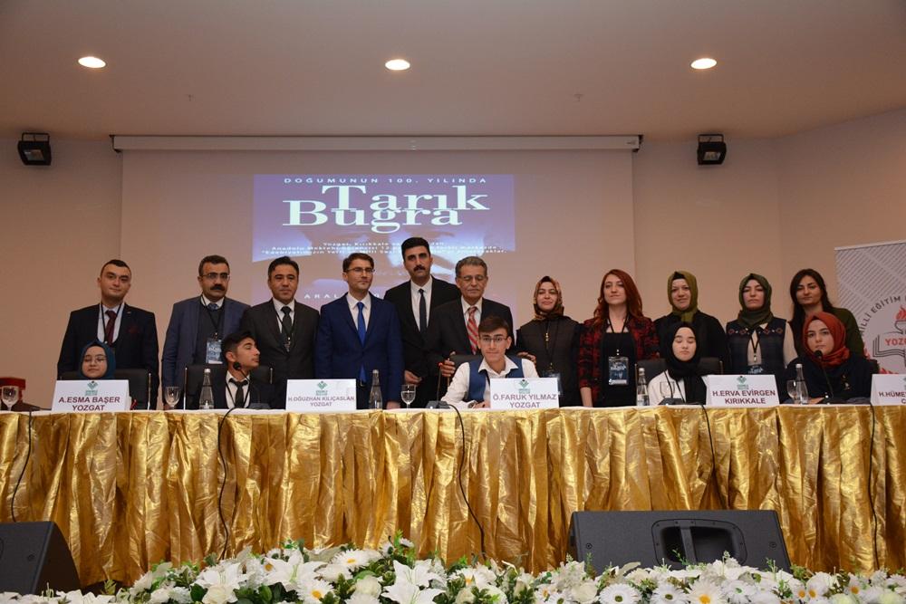 Edebiyatın Yerli ve Milli Sesi Tarık Buğra Yozgat'ta anıldı