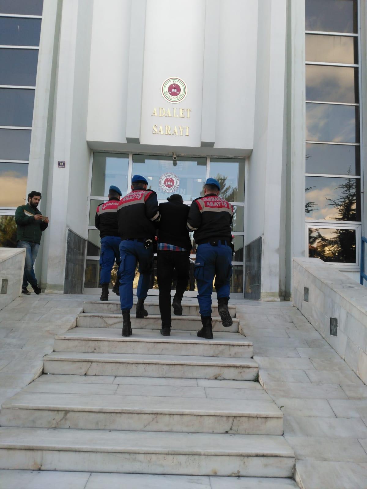 Pancar Sulama Borusu Çalan Hırsızlar Boğazlıyan'da Yakalandı