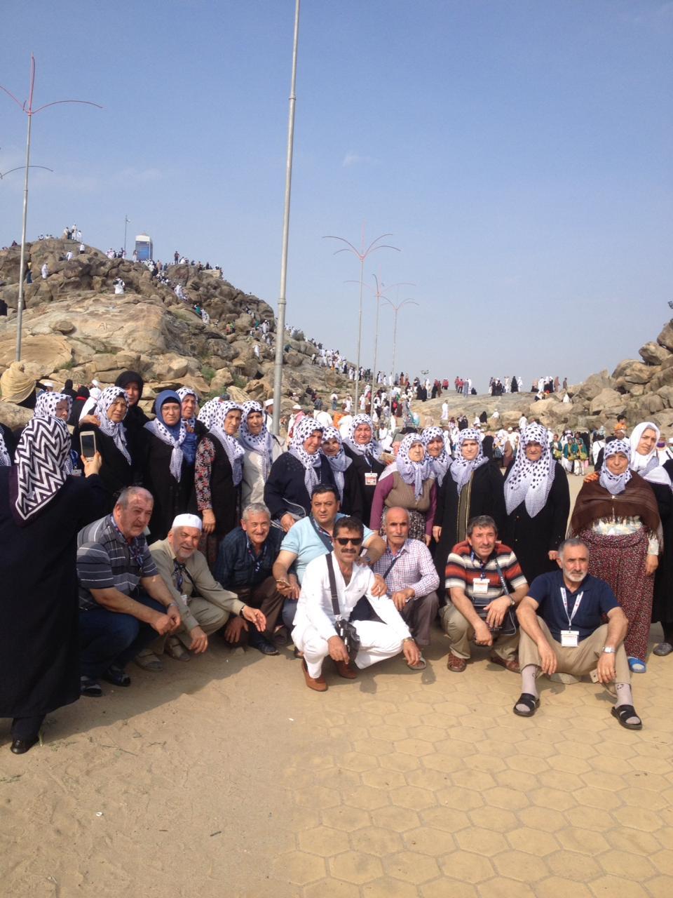 Boğazlıyanlı Umreciler Arafat'talar