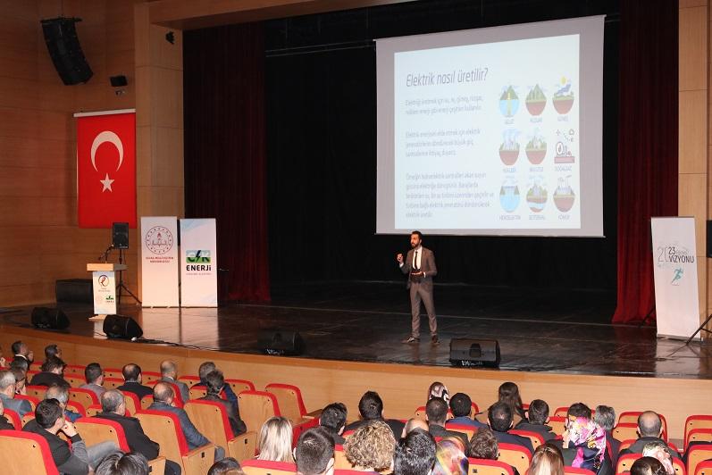'ENERJİ OKURYAZARLIĞI' SEFERBERLİĞİ BAŞLADI