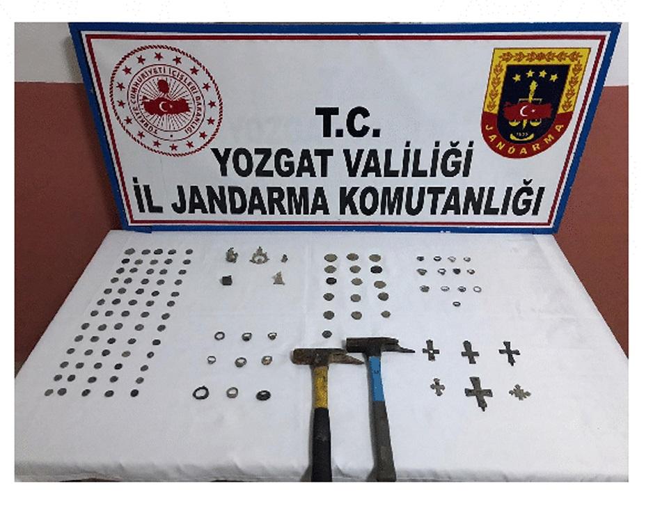 JANDARMA'DAN TARİHİ ESER OPERASYONU