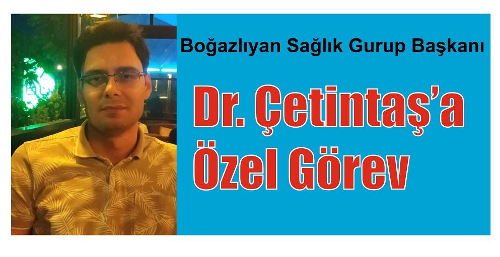 DR. ÇETİNTAŞ'A  ÖZEL GÖREV