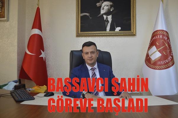 BAŞSAVCI ŞAHİN, GÖREVE BAŞLADI