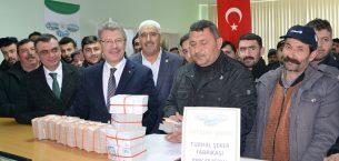 ŞEKER'DEN ÇİFTÇİSİNE ÇİFTE BAYRAM