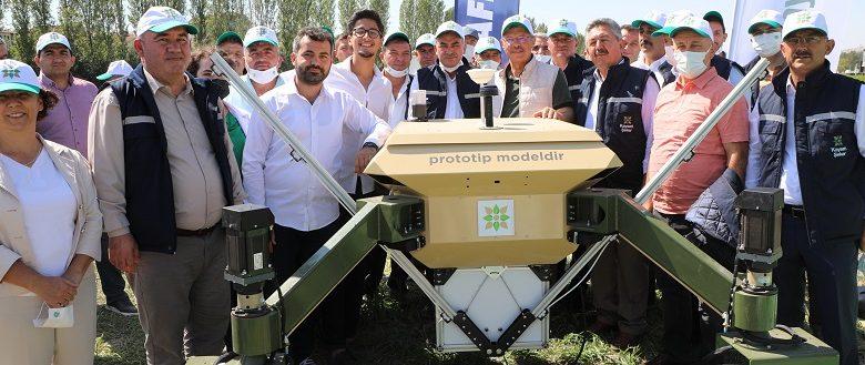 İNSANSIZ TARIM ROBOTU GELİYOR!