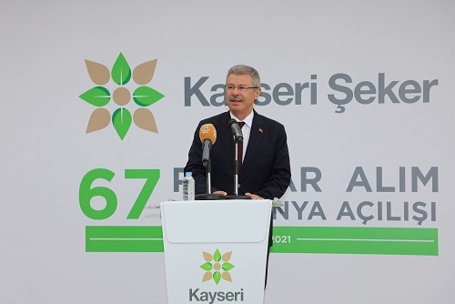 ŞEKER'DE 67'NCİ KAMPANYA BAŞLADI